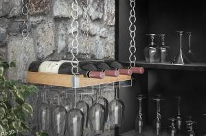 Presentoir-pour-verres-et-bouteilles-de-vin