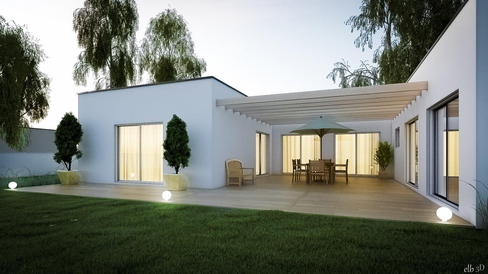 elb3d architecture design infographiste 3d freelance rennes. Black Bedroom Furniture Sets. Home Design Ideas