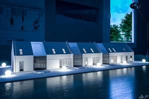 Maquette habitat groupé - Lc1 architecte/ J+E architectes